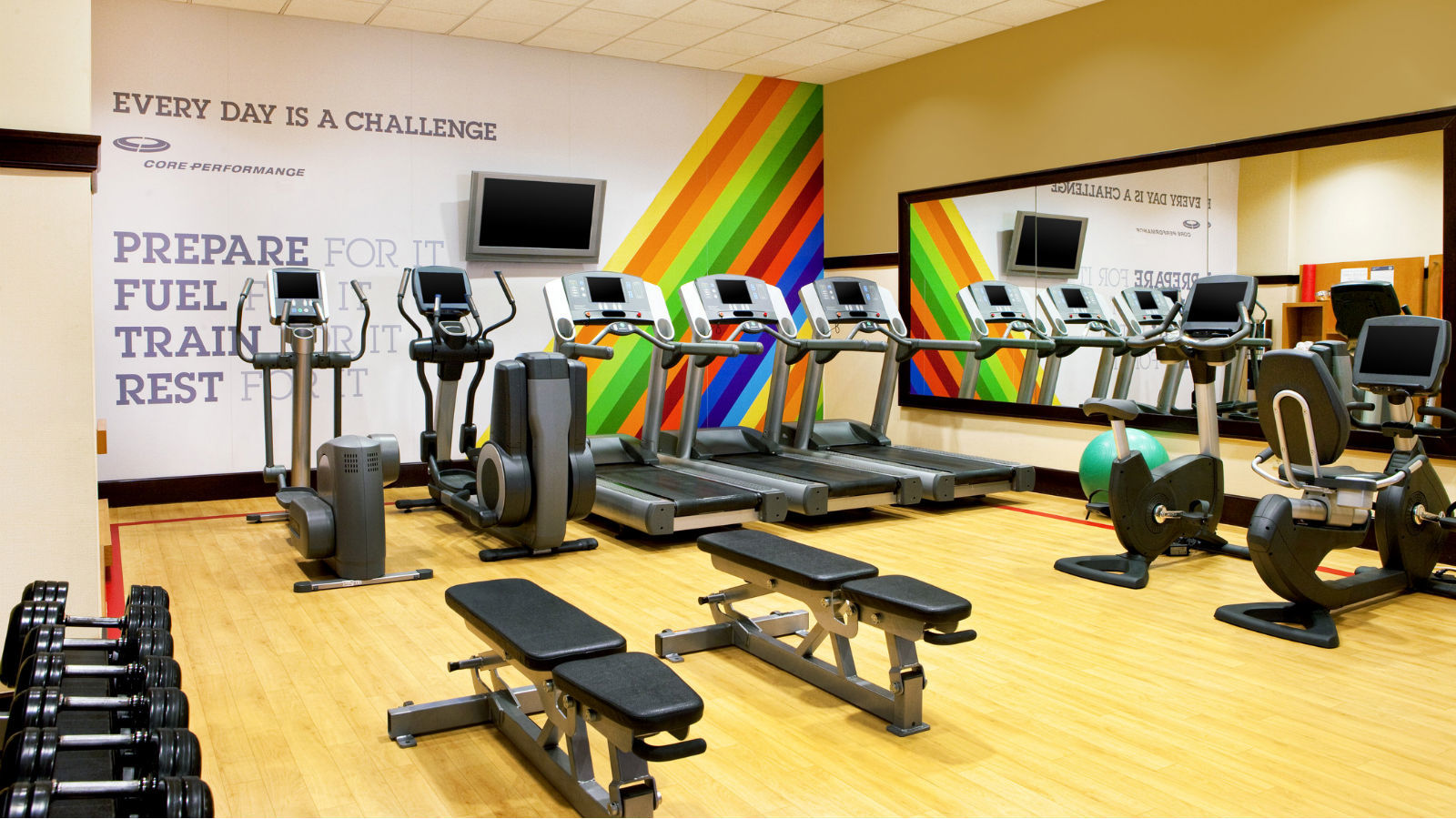Fitness Center | Sheraton Baltimore Washington Airport Hotel - BWI
