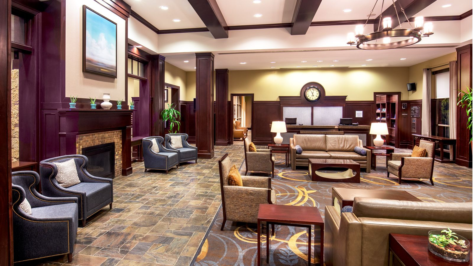 Newly Renovated Lobby | Sheraton Baltimore Washington Airport Hotel