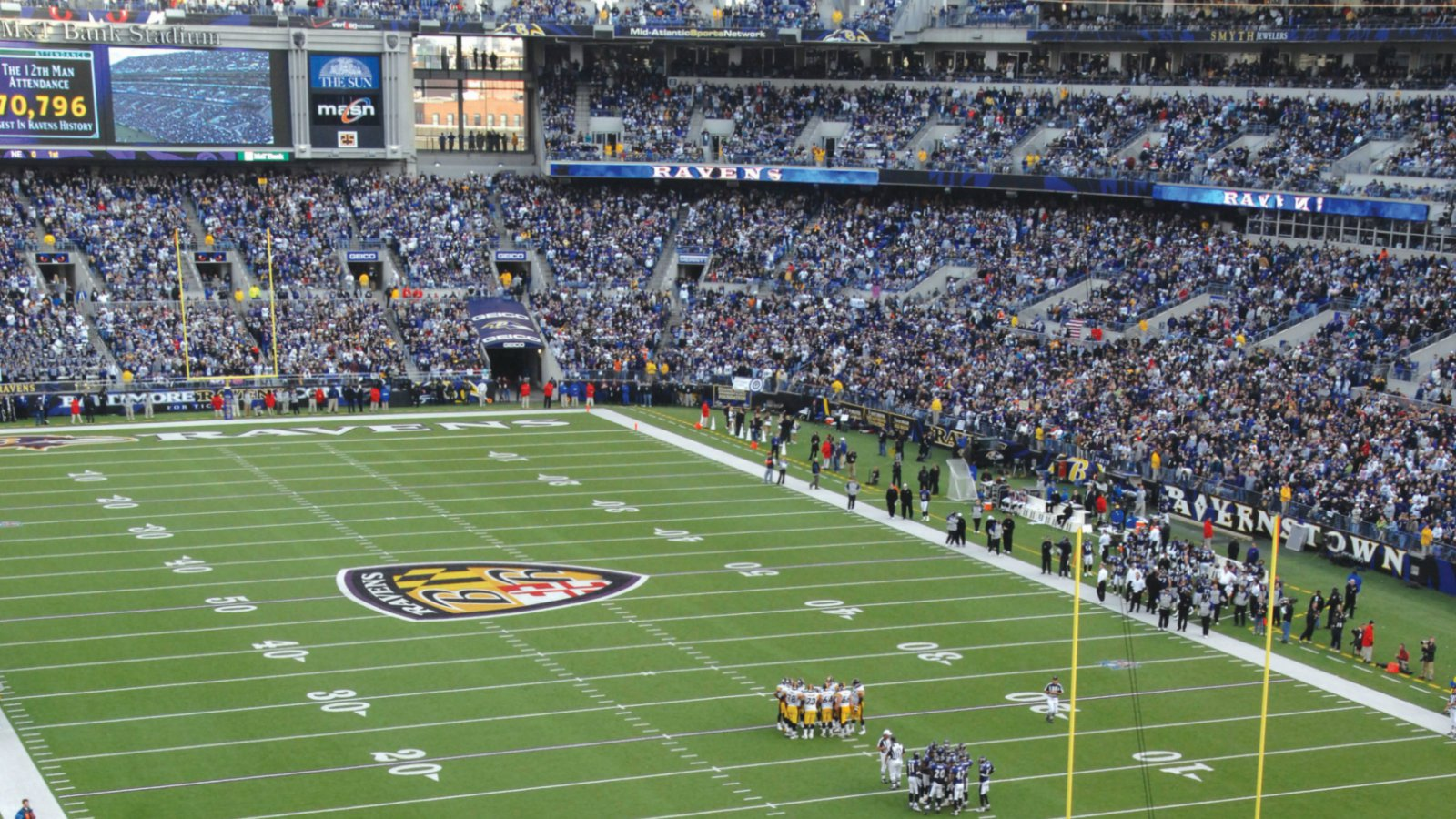 Things to do in baltimore sheraton baltimore washington for Restaurants m t bank stadium
